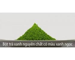 Bột trà xanh mua ở đâu đáng tin cậy?