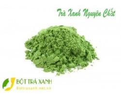 Mua bột trà xanh nguyên chất ở đâu Hà Nội?