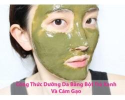 Công dụng của bột trà xanh đối với da