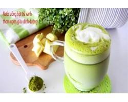 Cách pha bột trà xanh matcha bổ dưỡng