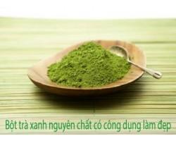 Mua bột trà xanh để giảm cân