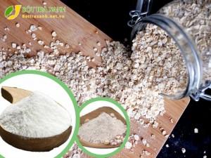 bột yến mạch ngọc trai sữa non